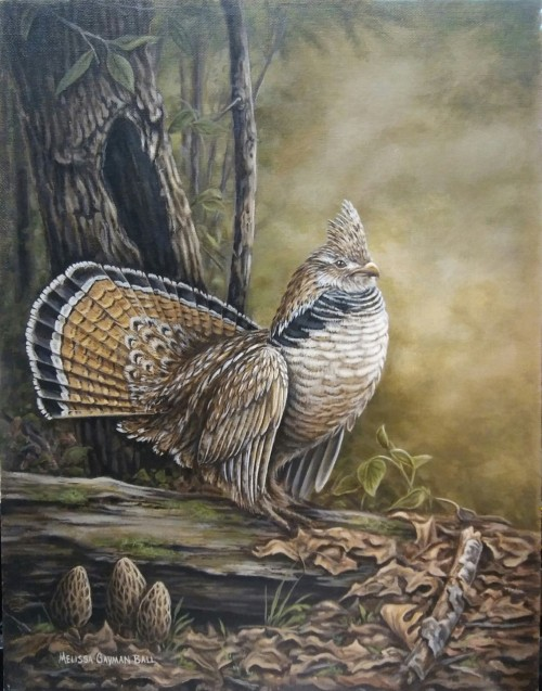 Grouse Painting